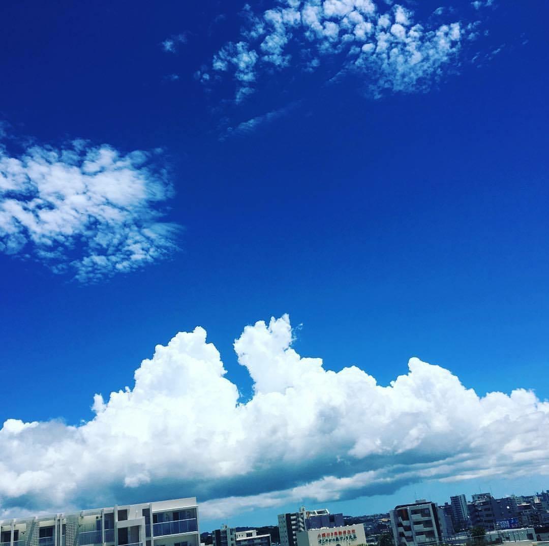 北谷町の空