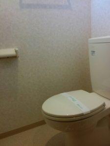 北谷町の家具付賃貸のトイレ