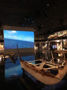 海洋文化館の船