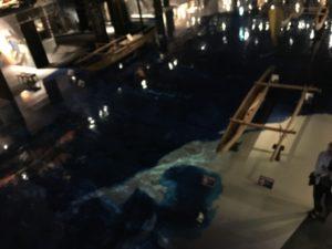 海洋文化館の中