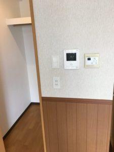 ペット同居型の部屋のコンセント