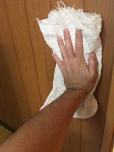 総合除菌消臭水で部屋の掃除