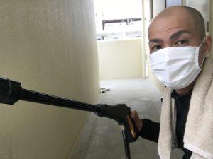 賃貸アパートの大掃除