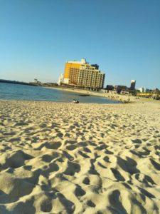 12月のサンセットビーチ