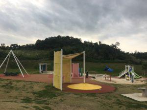 県営中城公園の小さな子供が遊ぶ遊具