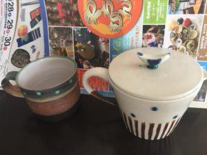 高江洲陶磁器と工房コトリノ