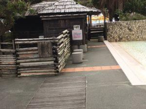 ザ・ビーチタワー沖縄の動物ふれあい広場