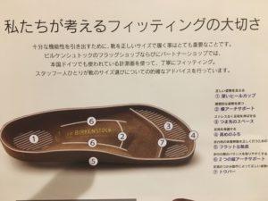 ビルケンシュトックのサンダルの特徴
