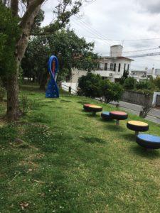 上勢頭北公園のタイヤの遊具