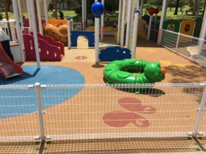 赤ちゃんでも遊べる浦添大公園