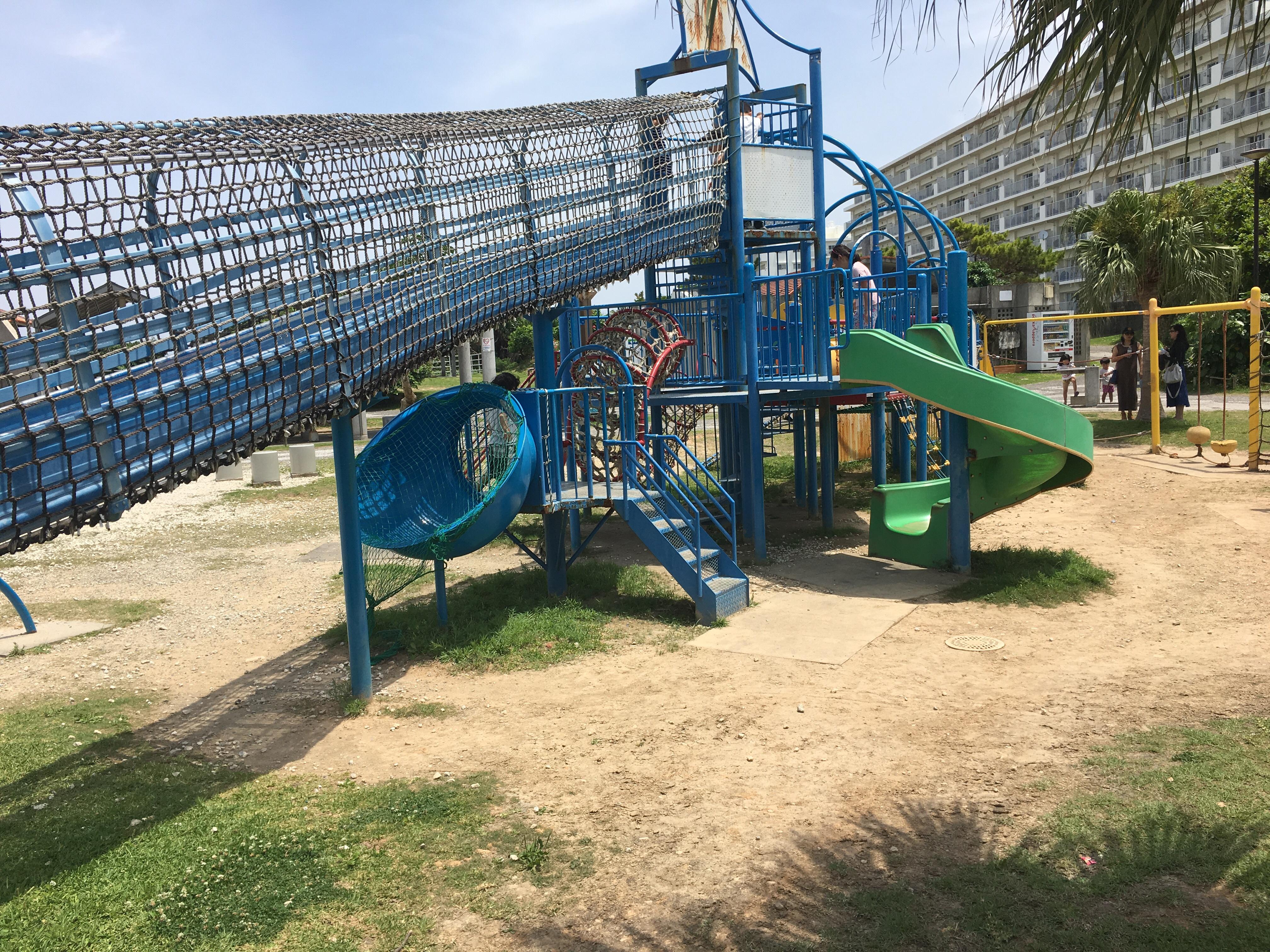 砂辺馬場公園の遊具