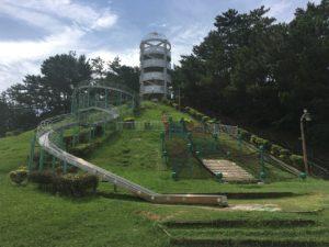 桃原公園の展望台