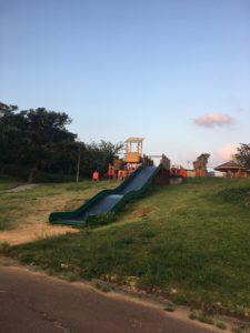 八重島公園の大きい滑り台