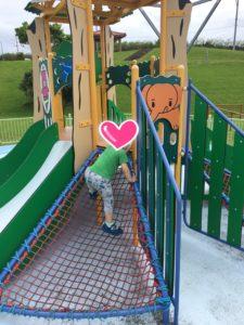 セーラの森公園の幼児用遊具