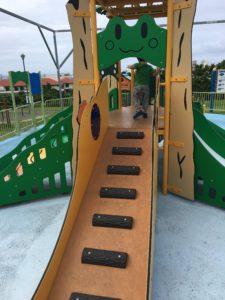 セーラの森公園の幼児用コンビネーション遊具