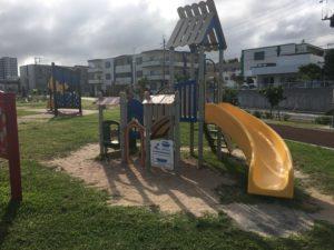 若夏公園の幼児向けの遊具