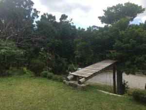 本部町にあるスマイルスプーンの庭