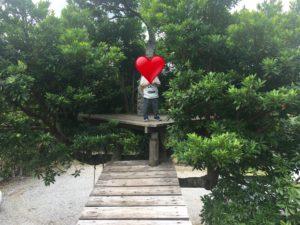 沖縄にあるスマイルスプーンの庭