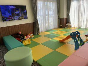 伊計島のホテルのキッズルーム