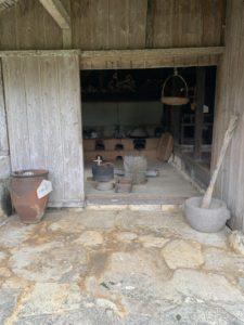 沖縄こどもの国のカーラヤーの台所