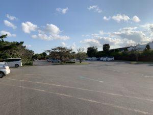 ビオスの丘の駐車場