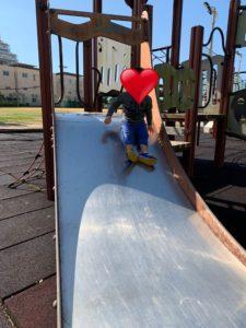 宮城屋外運動場の滑り台