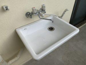 北谷にあるペット可賃貸のペット用洗面台