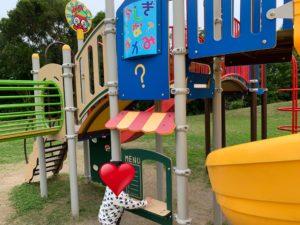八重岳桜の森公園にある幼児用遊具