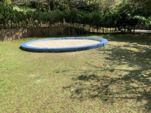 森川公園の砂場