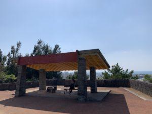 森川公園の東屋